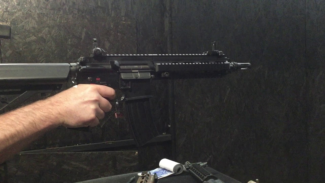 Workshop - Testing - HK416 Devgru - Lvl6 Prometheus / Firefly Parts, BTC  spectre Mk2