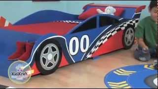 Kidkraft Racing Car Bed Review 76038 - Children Race Car Bed / Cot - Jadlam Racing Models