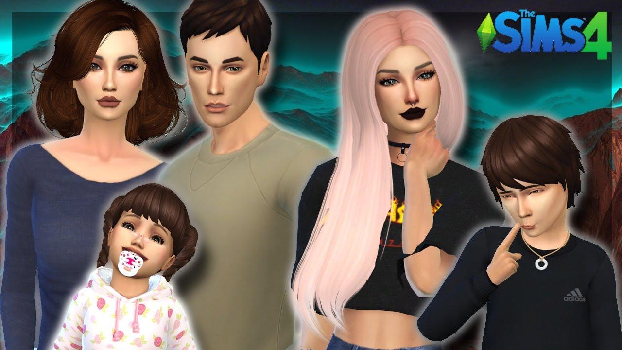 The Sims 4 | Create a Sim- Family Harper