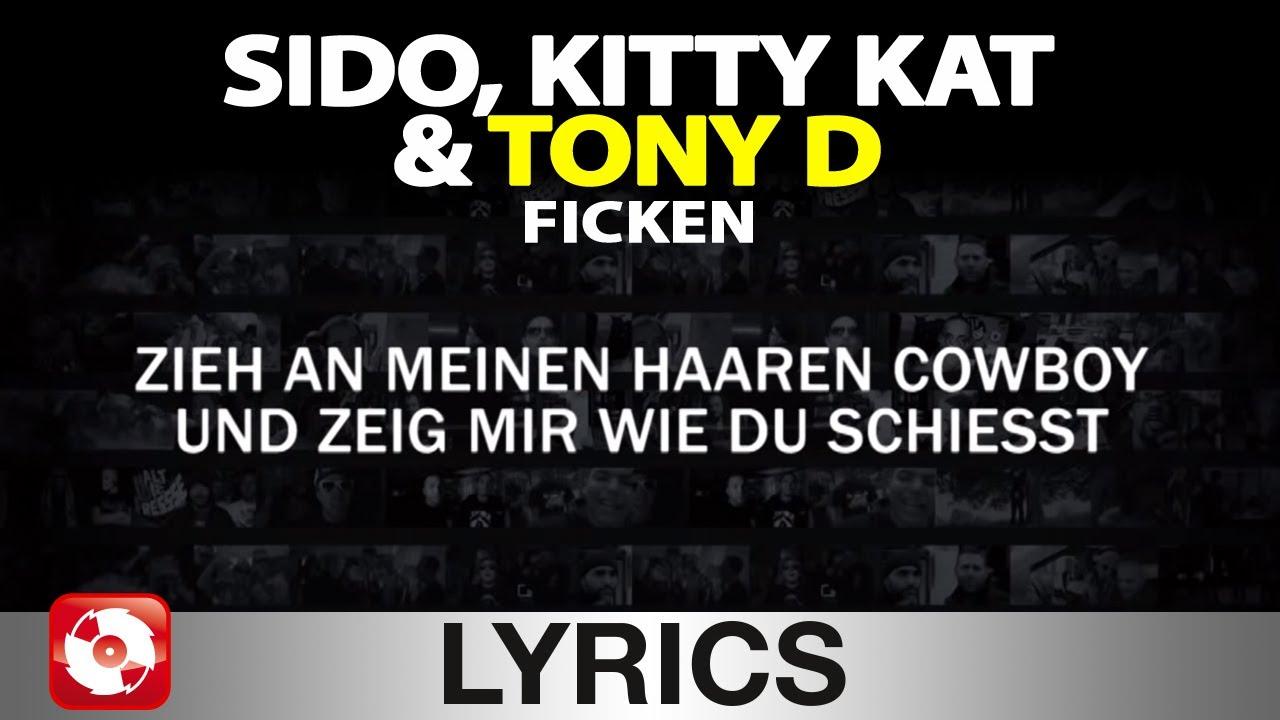 Download SIDO, KITTY KAT & TONY D - FICKEN AGGROTV LYRICS KARAOKE (OFFICIAL VERSION)