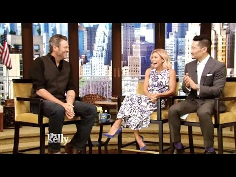 Blake Shelton - Interview - Kelly