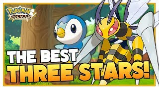 POKEMON MASTERS | The Best Three Stars Of Every Type!