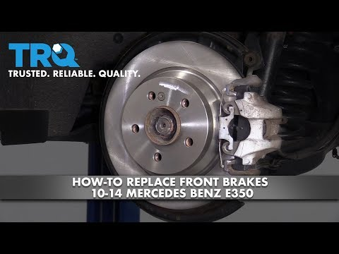 How to Replace Rear Brakes 10-14 Mercedes-Benz E350