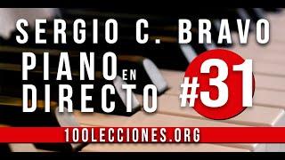 🔴 Piano En Directo #31 - Escalas de Do Mayor y Sol Mayor. Como tocar escalas en piano