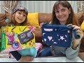 ELİF İLE ÇANTA SÜSLEDİK BOYADIK SÜPER OLDU Eğlenceli çocuk Videosu mp3