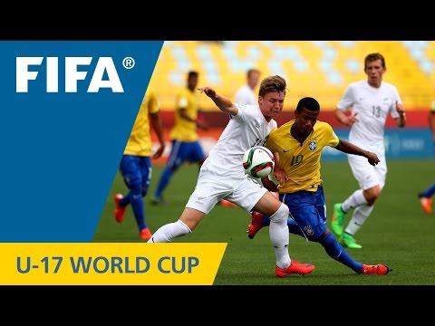 Highlights: Brazil v. New Zealand - FIFA U17 World Cup Chile 2015