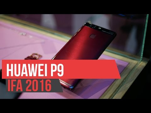 Huawei P9 Blue and Red - Hands on IFA 2016