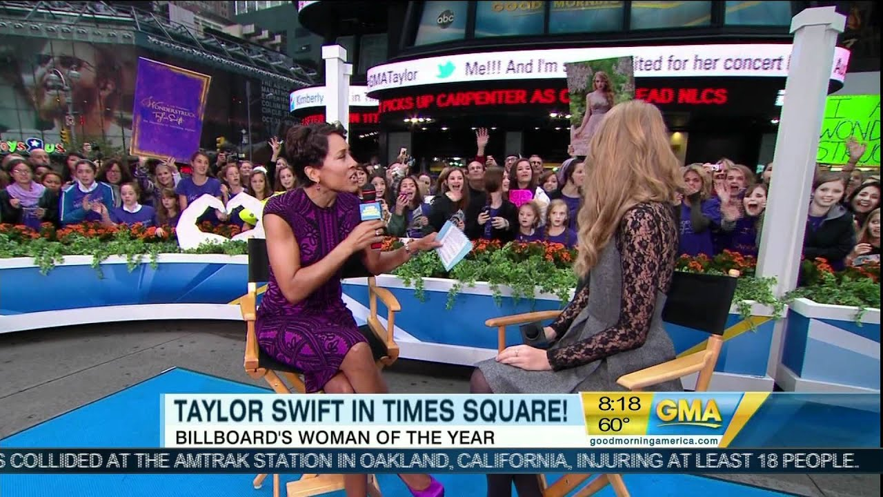 Good Morning America Intruder Interview : Taylor swift interview on good morning america