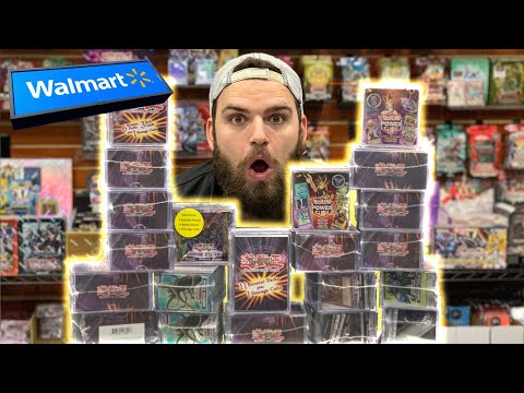 We Opened ALL the Yu-Gi-Oh MYSTERY POWER Cubes from WALMART!