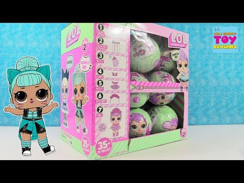 LOL Surprise Series 2 Full Box Opening Episode 1 Doll Blind Bag Opening | PSToyReviews