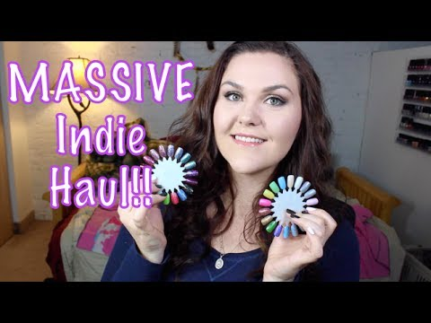 MASSIVE Indie Nail Polish Haul!! Part 2!