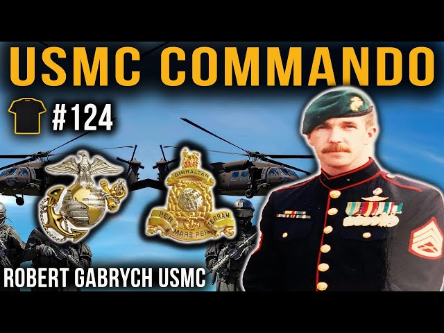 USMC Drill Instructor PASSES Royal Marines Commando Course | Sgt. Robert Gabrych | SWAT Team