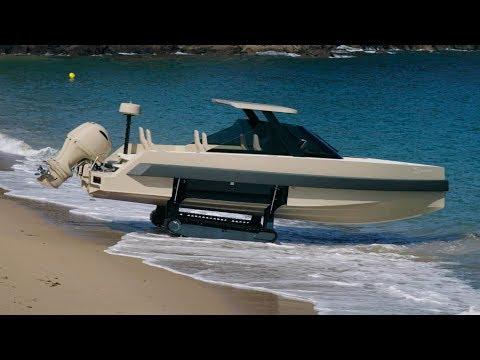 The amphibious boat