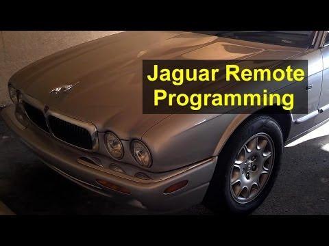 Jaguar key remote control programming and battery replacement, XJ8 XJR – Auto Repair Series