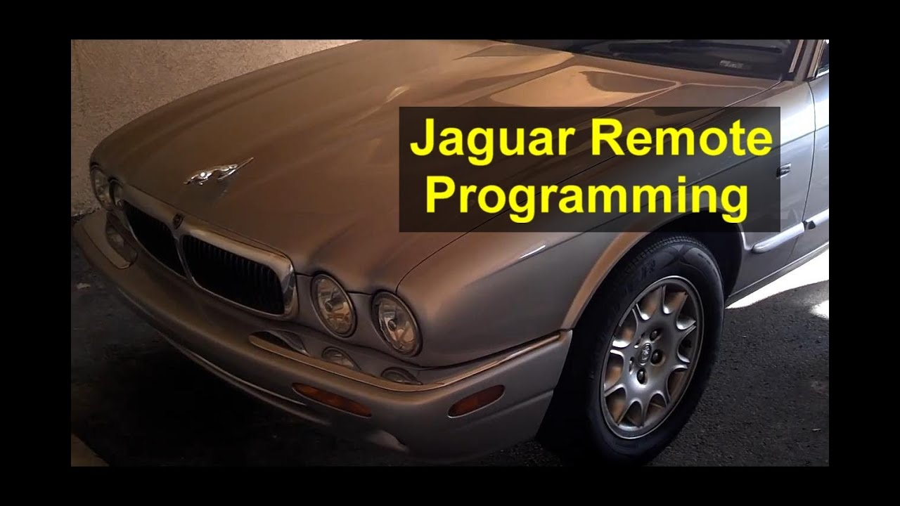 hight resolution of jaguar key remote control programming and battery replacement xj8 xjr auto repair series