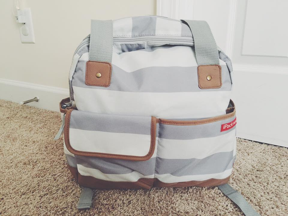 ipack baby bowling diaper bag backpack review youtube. Black Bedroom Furniture Sets. Home Design Ideas