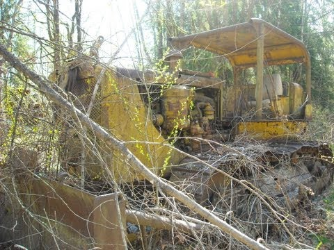 Old Caterpillar D8 Cable Dozer