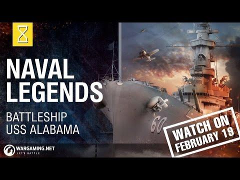 Naval Legends - USS Alabama Teaser - YouTube