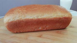 РЕЦЕПТ и ВЫПЕЧКА белого хлеба Хлеб в духовке RECIPE and BAKING of white bread Bread in the oven