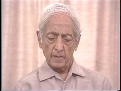 Is your brain free from problems? | J. Krishnamurti