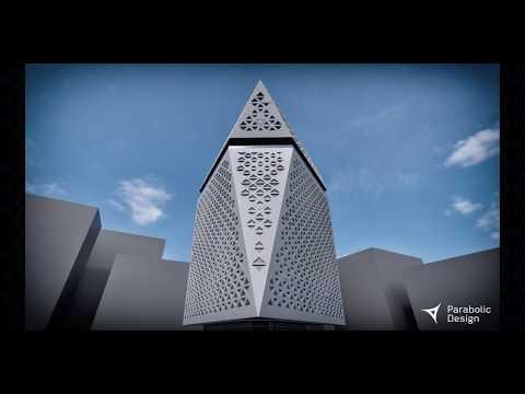 Parametric Design Study of Qatar Foundation Headquarters