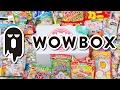 WOWBOX UNBOXING! - WowBox Japanese Candy & Treats Febuary 2017