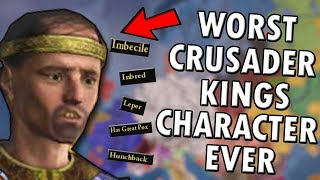 So I Made The Worst Possible Character On Crusader Kings 2