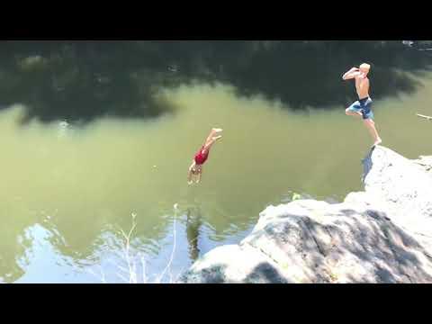 Kicken for cliff