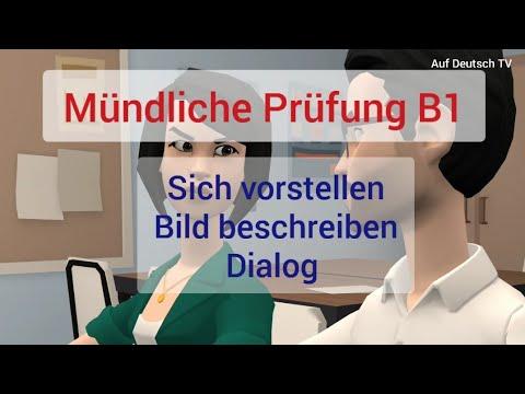 B1 Prüfung/sich vorstellen/Bild