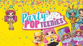 Party POP Teenies • Surprise Box • Wystrzałowe lalki niespodzianki