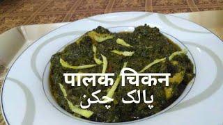 Chicken Palak by Aisha   Palak Chicken   Easy Recipe of Chicken Palak