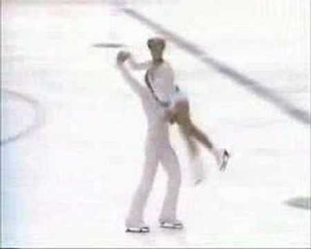Torvill and Dean- Too lost in you