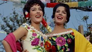 Elvira Quintana y María Duval - Los laureles (1958)