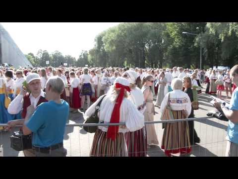 4K UHD 2160p The Song Festival in Estonia 2014 July 06 Laulupidu