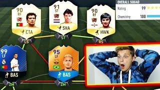 OMG! BESTE LEGENDEN FUT DRAFT TEAM EVER! ⚽😝⛔️  - FIFA 17 ULTIMATE TEAM (DEUTSCH)