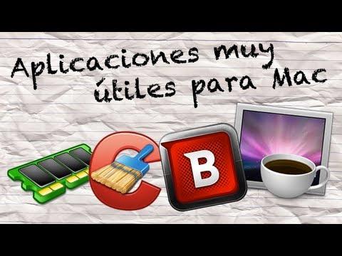 4 Aplicaciones muy Útiles para Mac - Caffeine/Bitdefender Virus Scanner/Free Memory/CCleaner