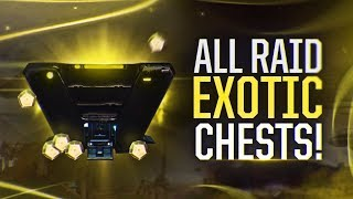 Destiny 2: all 9 secret raid chests! leviathan exotic chest locations!