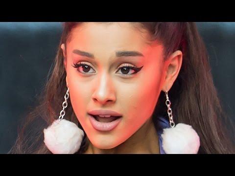 Ariana Grande Kissing Girls