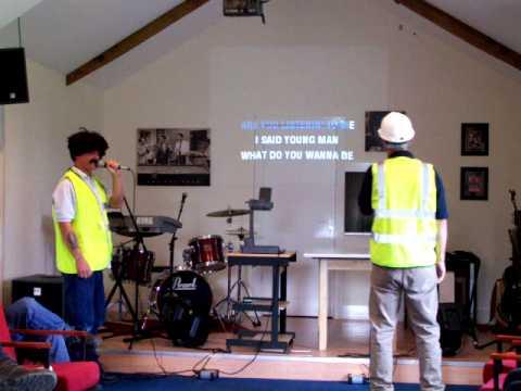 Paul Billett and Dean Lowdon @ Ovis Farm Karaoke