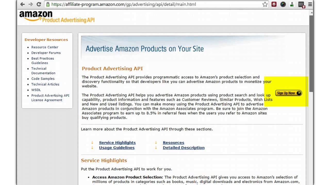 How to be an Amazon Associate & Set Up Your API Access Keys