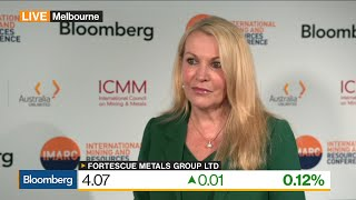 Fortescue's CEO on Iron Ore Demand, China, Consolidation, Diversification