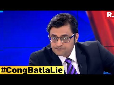 Why Did Congress Back India's Saeed? #CongBatlaLie | The Debate With Arnab Goswami