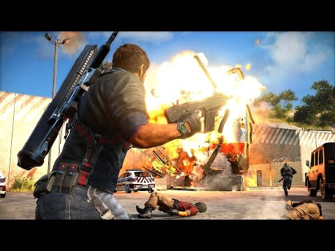 Just Cause 3 Most Wanted 5 Star Heat Level