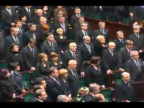 Posiedzenie Żałobne Sejmu - Smoleńsk