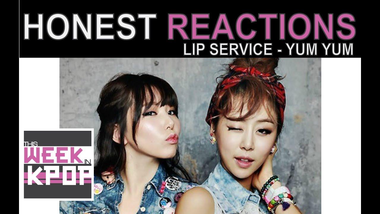 Lip Service (립서비스) - Yum Yum Yum (냠냠냠) Reaction (Honest ...