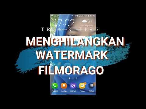 CARA MENGHILANGKAN WATERMARK FILMORAGO DI HP