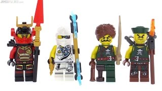 LEGO Ninjago Accessory Set Figure Pack Review! 853544