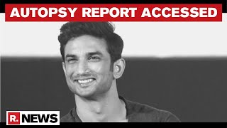 Sushant's Death Probe: Autopsy Conducted By 5 Doctors | Report Accessed