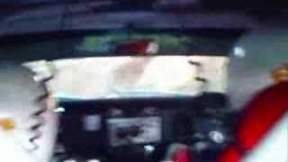 datsun 1600 incar crash ben n bec sheldrick hellyer rally 08