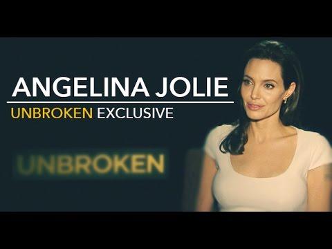 UNBROKEN - Exclusive Interview with ANGELINA JOLIE